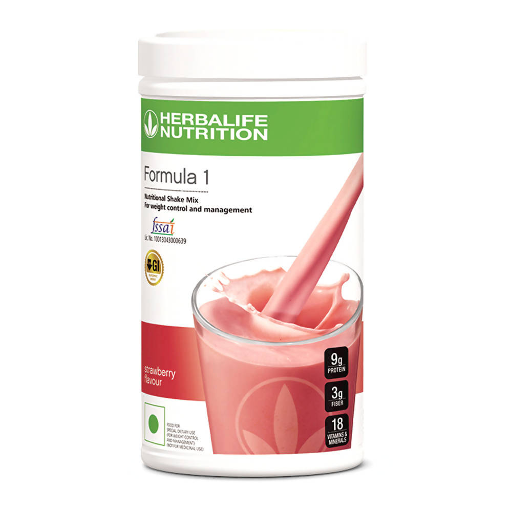 Herbalife Nutrition Formula 1 Nutritional Shake Mix Strawberry Flavour - Distacart