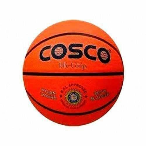 Cosco Hi-Grip Basket Ball, Size 5 (Orange)