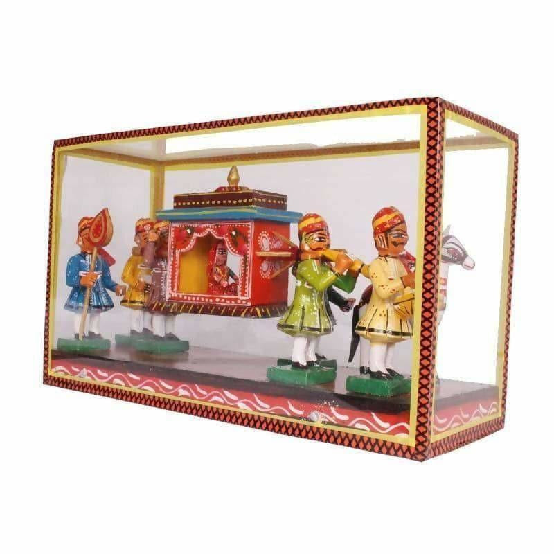 Kondapalli Meena Set With Frame - Dista Cart