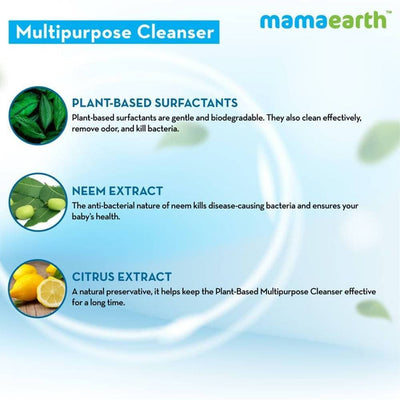 Mamaearth Plant-Based Multipurpose Cleanser For Babies