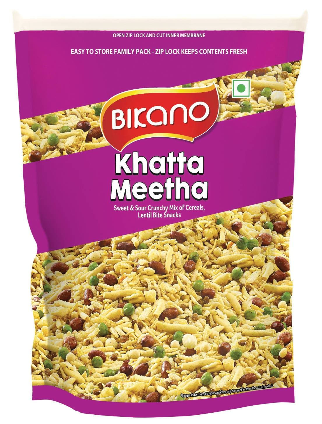 Bikano Khatta Meetha Mixture 400 GM