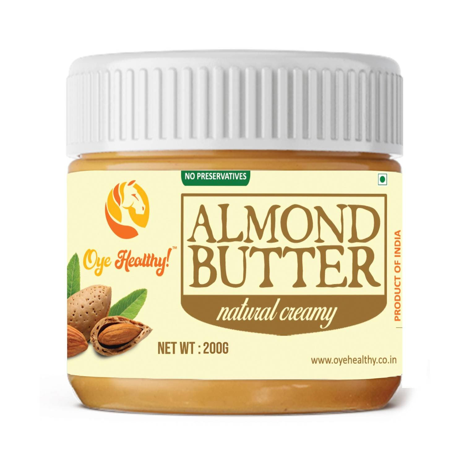 Oye Healthy Almond Butter Natural Creamy