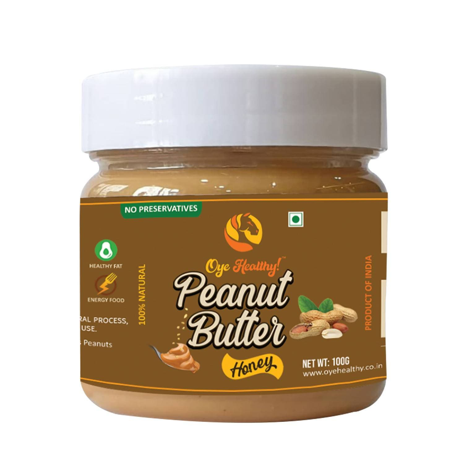 Oye Healthy Peanut Butter Natural Honey