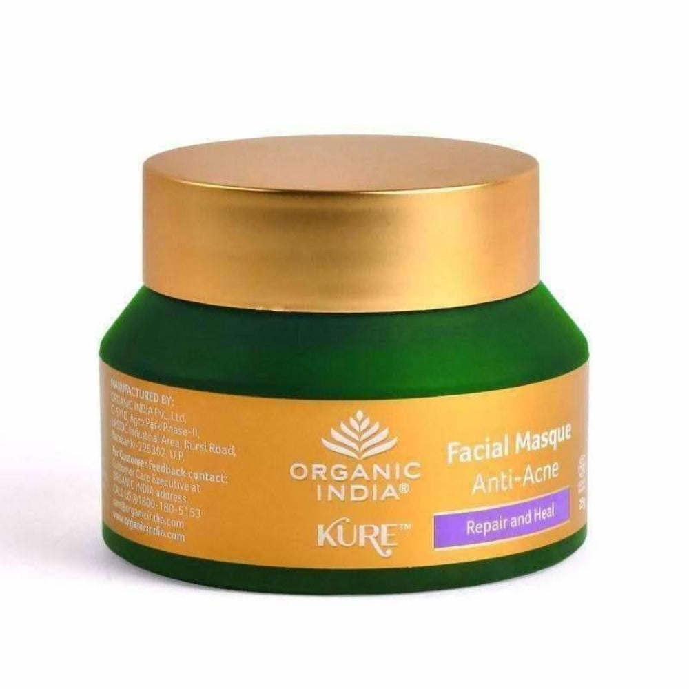 Organic India Facial Masque Anti-Acne 25g