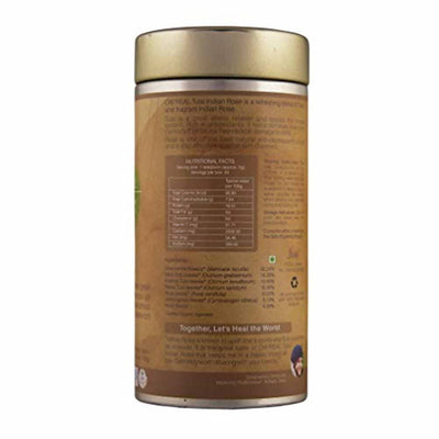Organic Wellness Ow'Real Tulsi Indian Rose Tin Pack