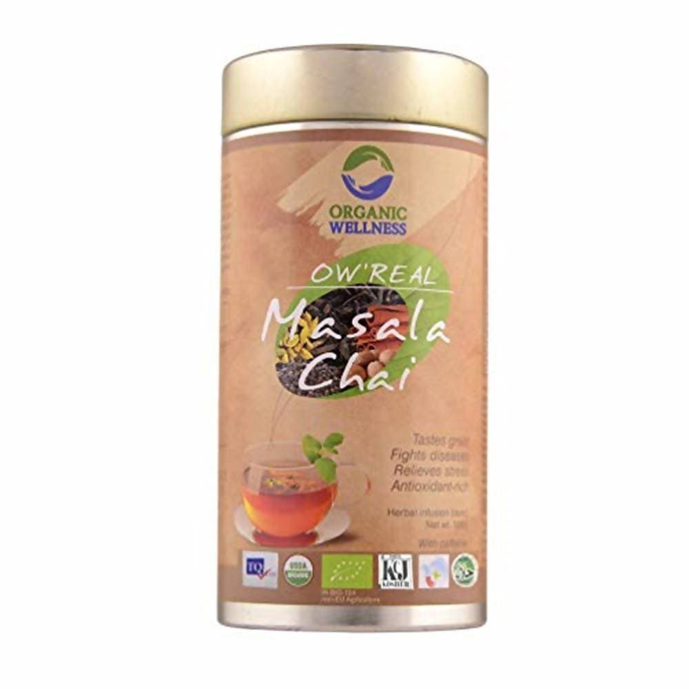 Organic Wellness Ow'Real Masala Chai Tin