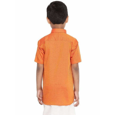 Ramraj - Giza Cotton Set - Orange