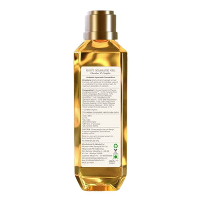 Forest Essentials Relaxing Body Massage Oil Chandan & Camphor - Distacart