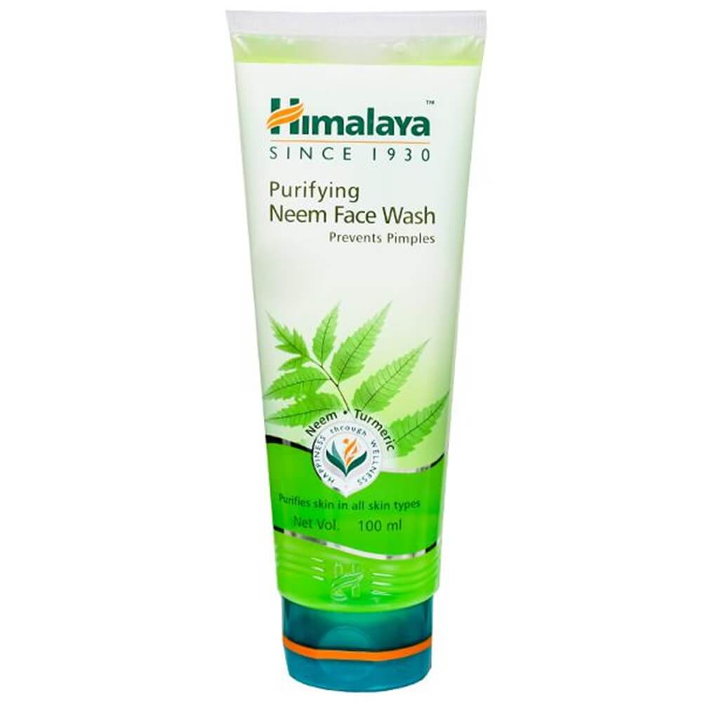 Himalaya Herbals Purifying Neem Face Wash - Distacart