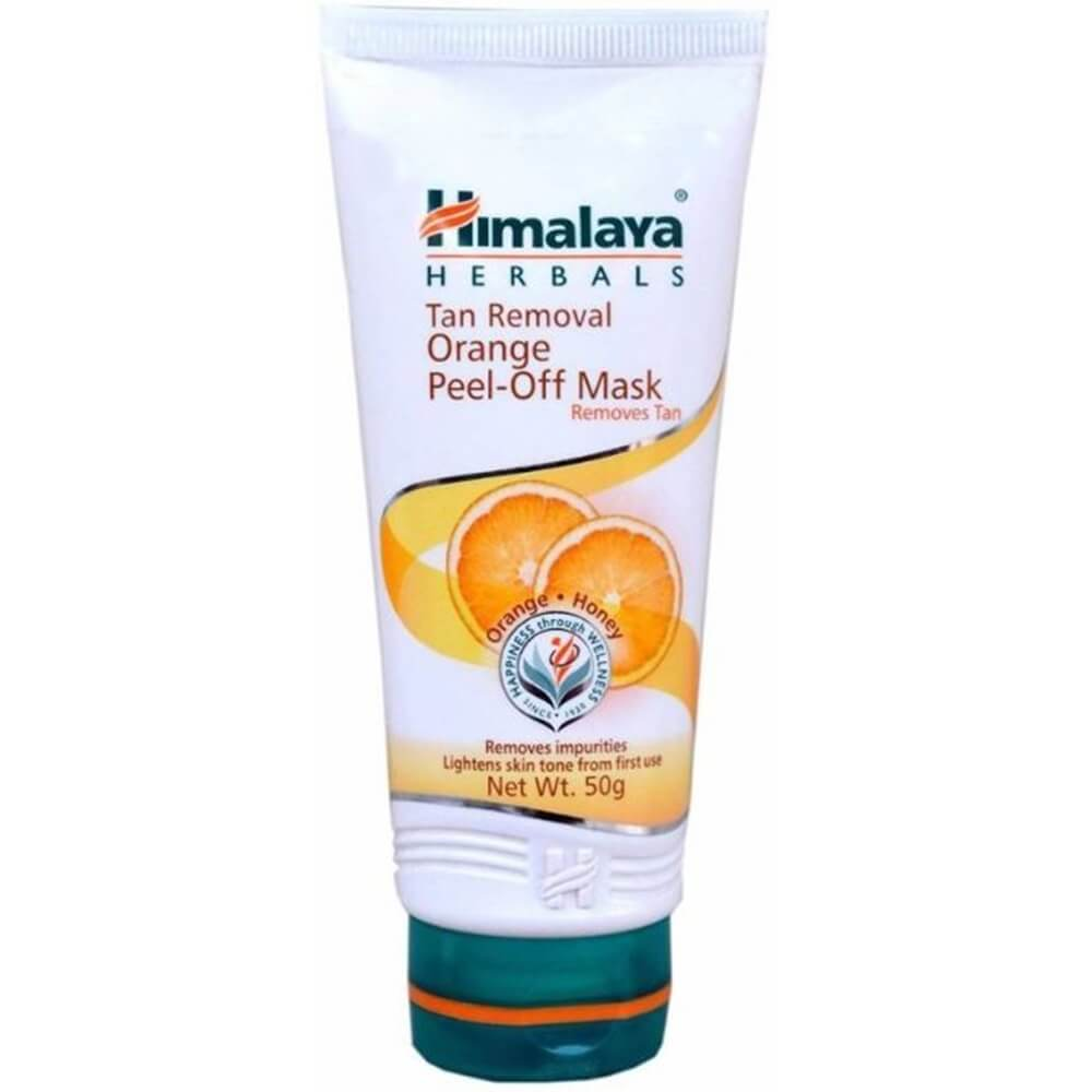 Himalaya Herbals Tan Removal Orange Peel-Off Mask - Distacart