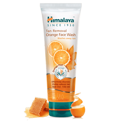 Himalaya Tan Removal Orange Face Wash - 100ml