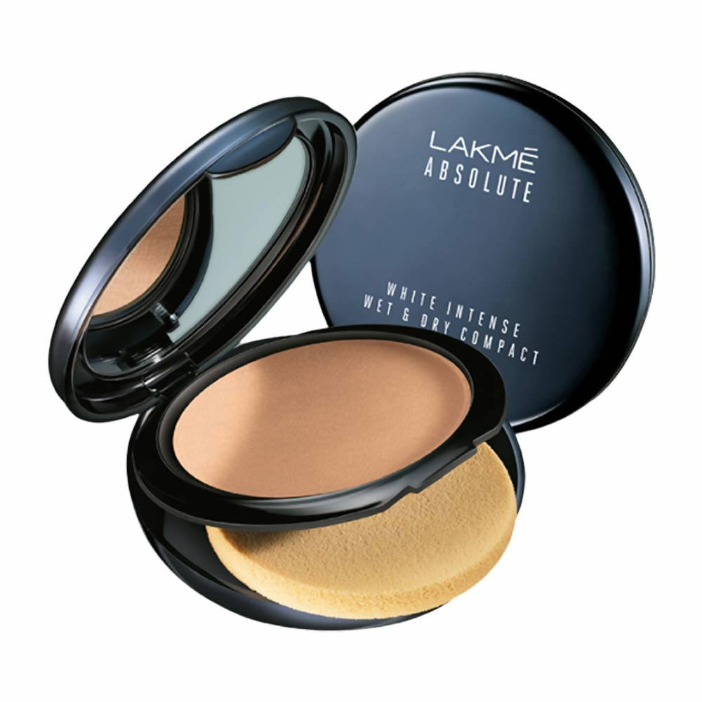 Lakme Absolute White Intense Wet and Dry Compact - Almond Honey - Distacart