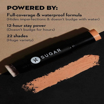Sugar Ace Of Face Foundation Stick - Corretto (Tan, Yellow Undertone) - Distacart