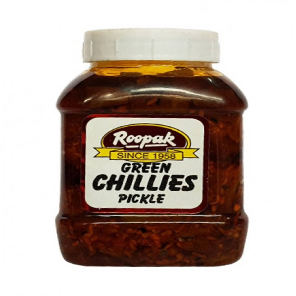 Roopak Green Chillies Pickle - Distacart