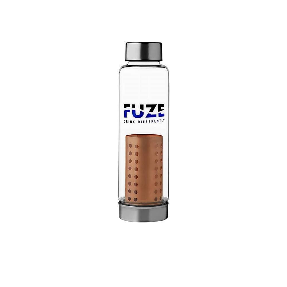 Fuze Glass Bottle With Pure Copper Filter