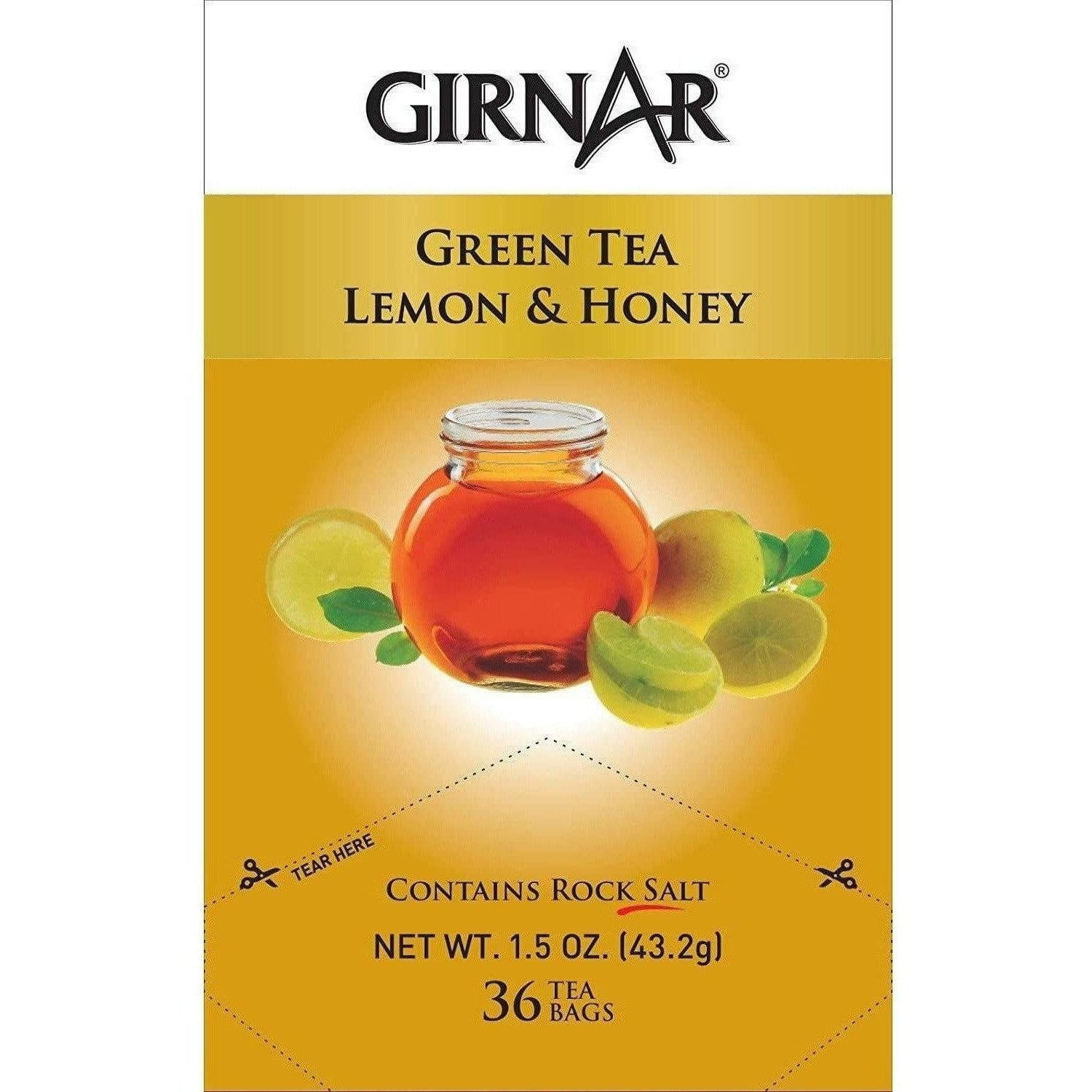 Girnar Green Tea Lemon & Honey