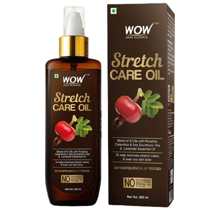 Wow Skin Science Stretch Care Oil - Distacart