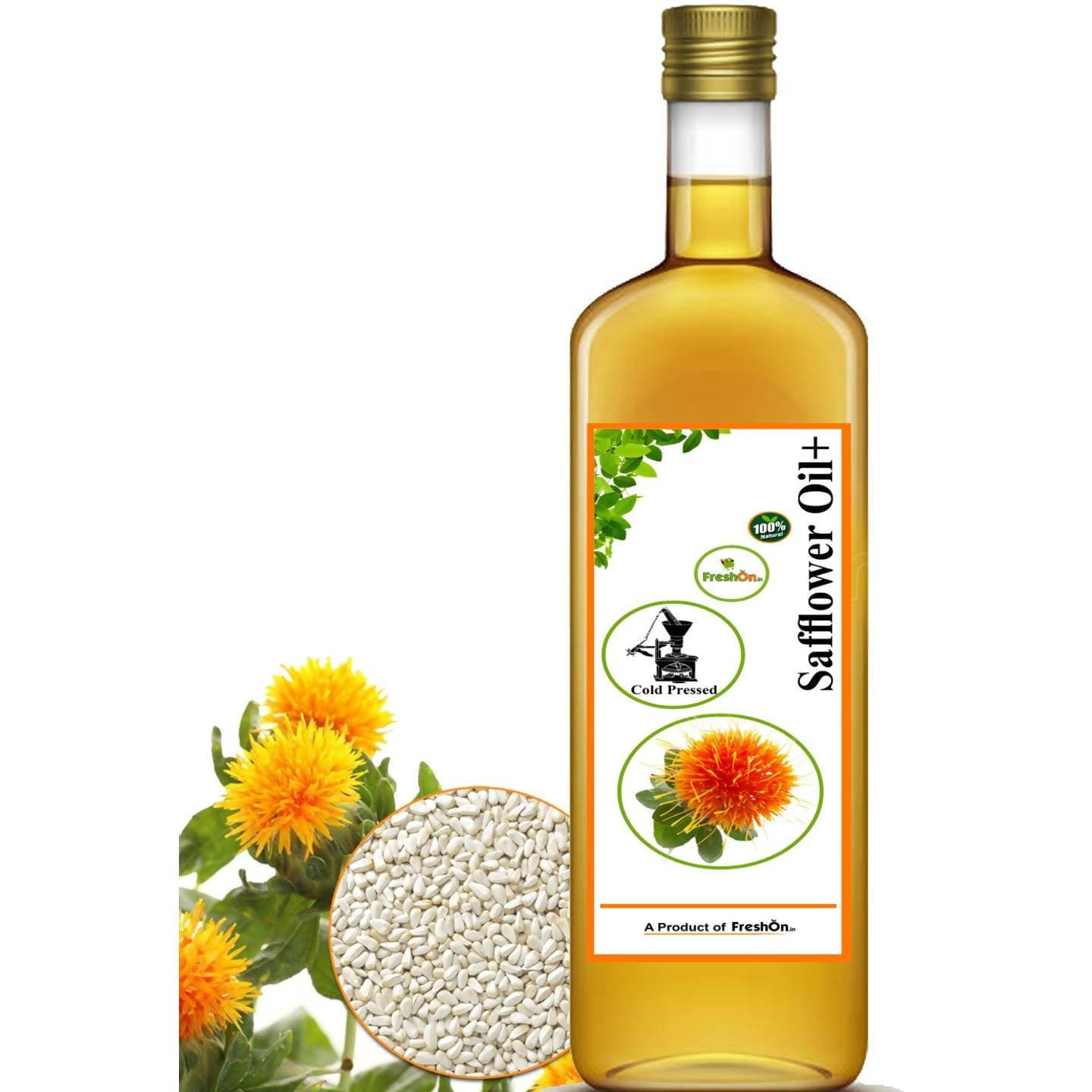 Freshonin Safflower Oil + Cold Pressed