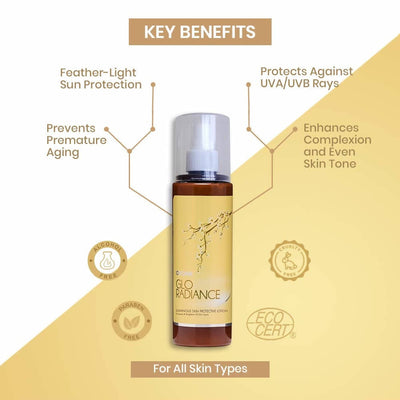 Key Benefits Ozone Glo Radiance Luminous Skin Protective Lotion