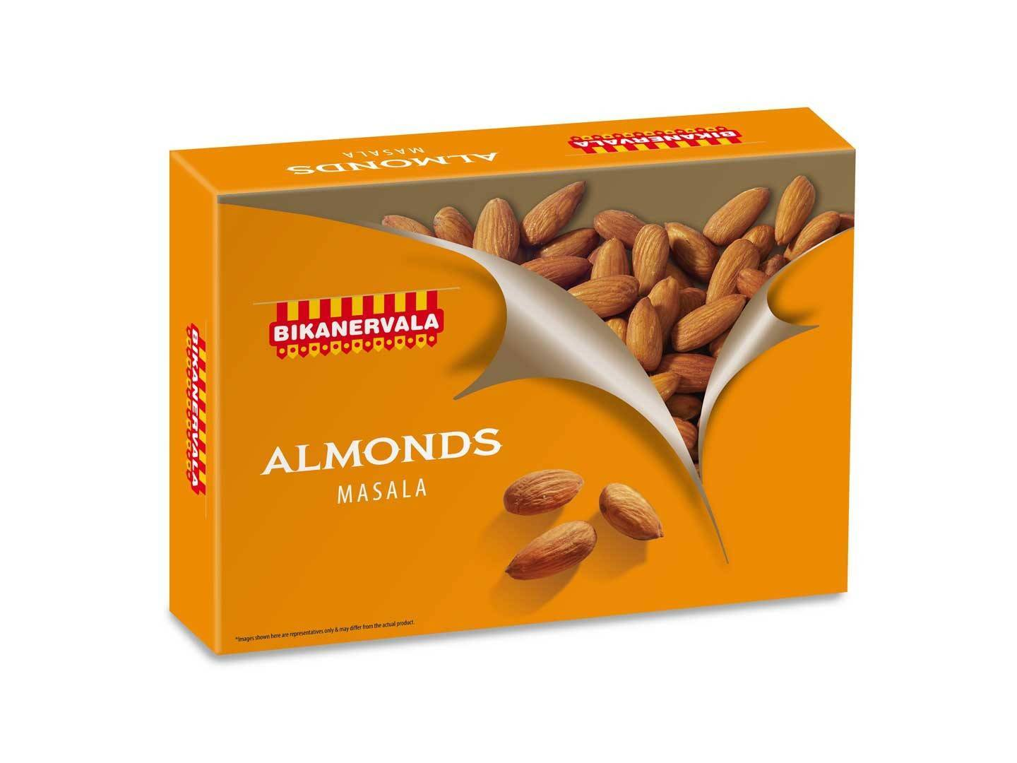 Bikano Masala Almonds and salted cashew nuts
