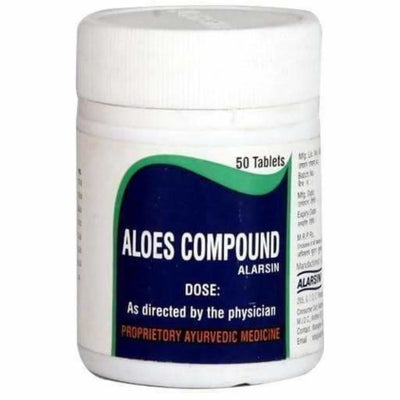 Alarsin Ayurvedic Aloes Compound Tablet