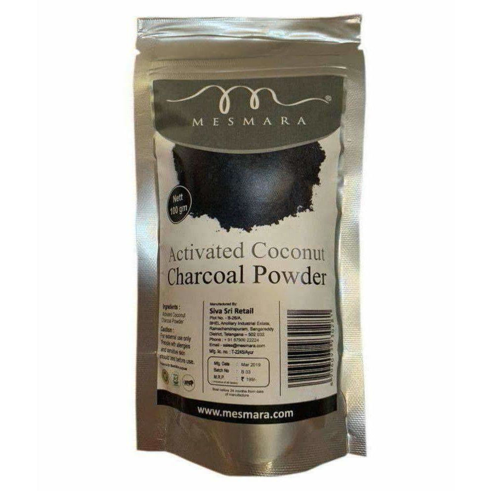 Mesmara Activated Coconut Charcoal Powder 100 gms