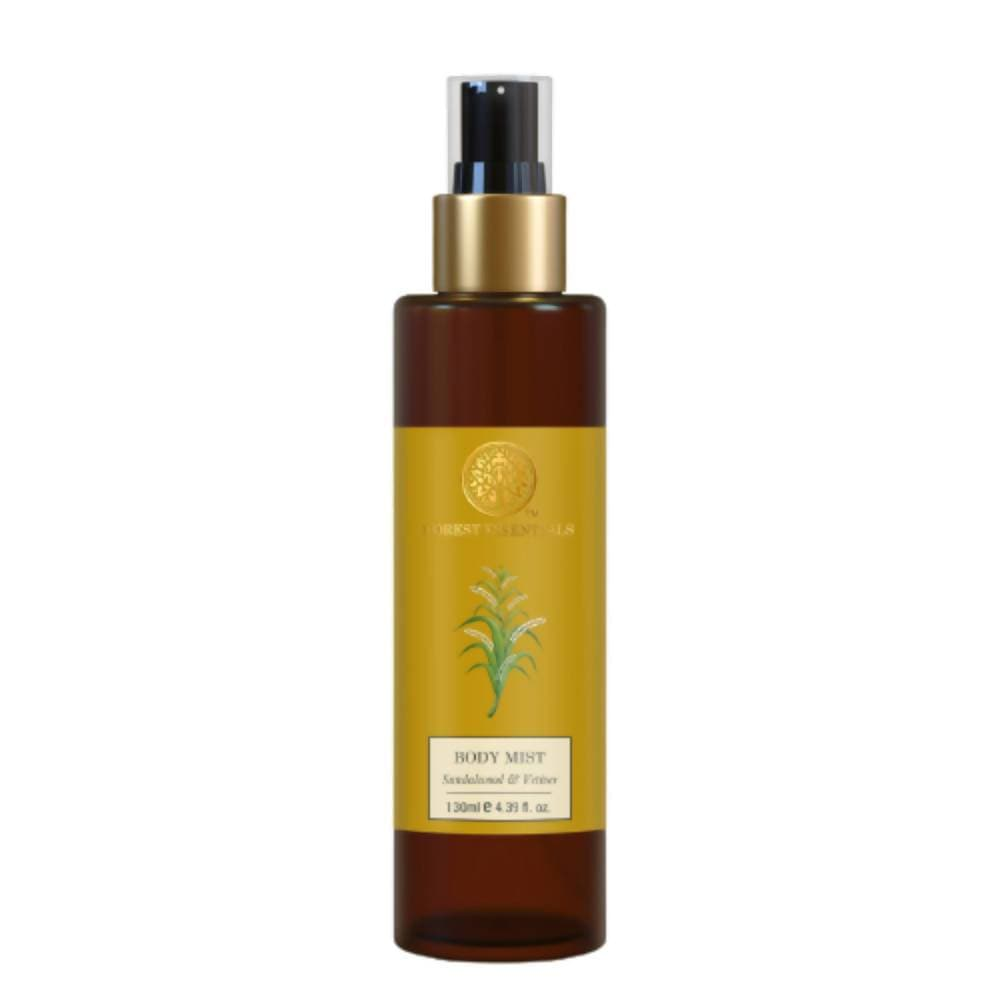 Forest Essentials Body Mist Sandalwood & Vetiver - Distacart
