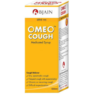 Bjain Homeopathy Omeo Cough syrup 500ml