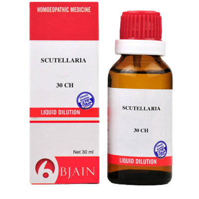 Bjain Homeopathy Scutellaria Dilution - Distacart