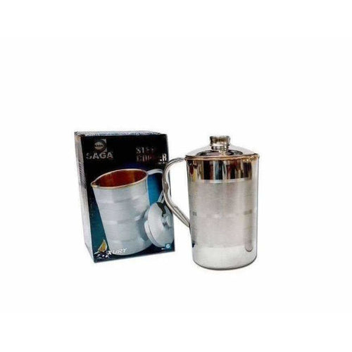 Saga Stainless Steel Copper Jug With Lid - Dista Cart
