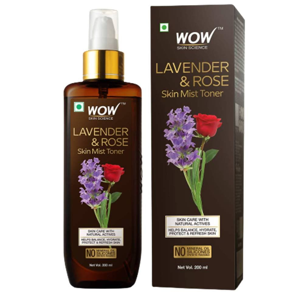 Wow Skin Science Lavender & Rose Skin Mist Toner