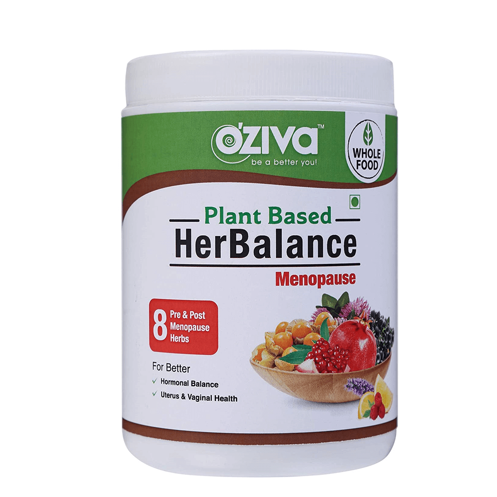 OZiva Plant Based HerBalance for Menopause