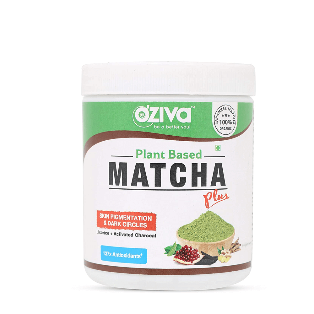 OZiva Plant Based Matcha Plus