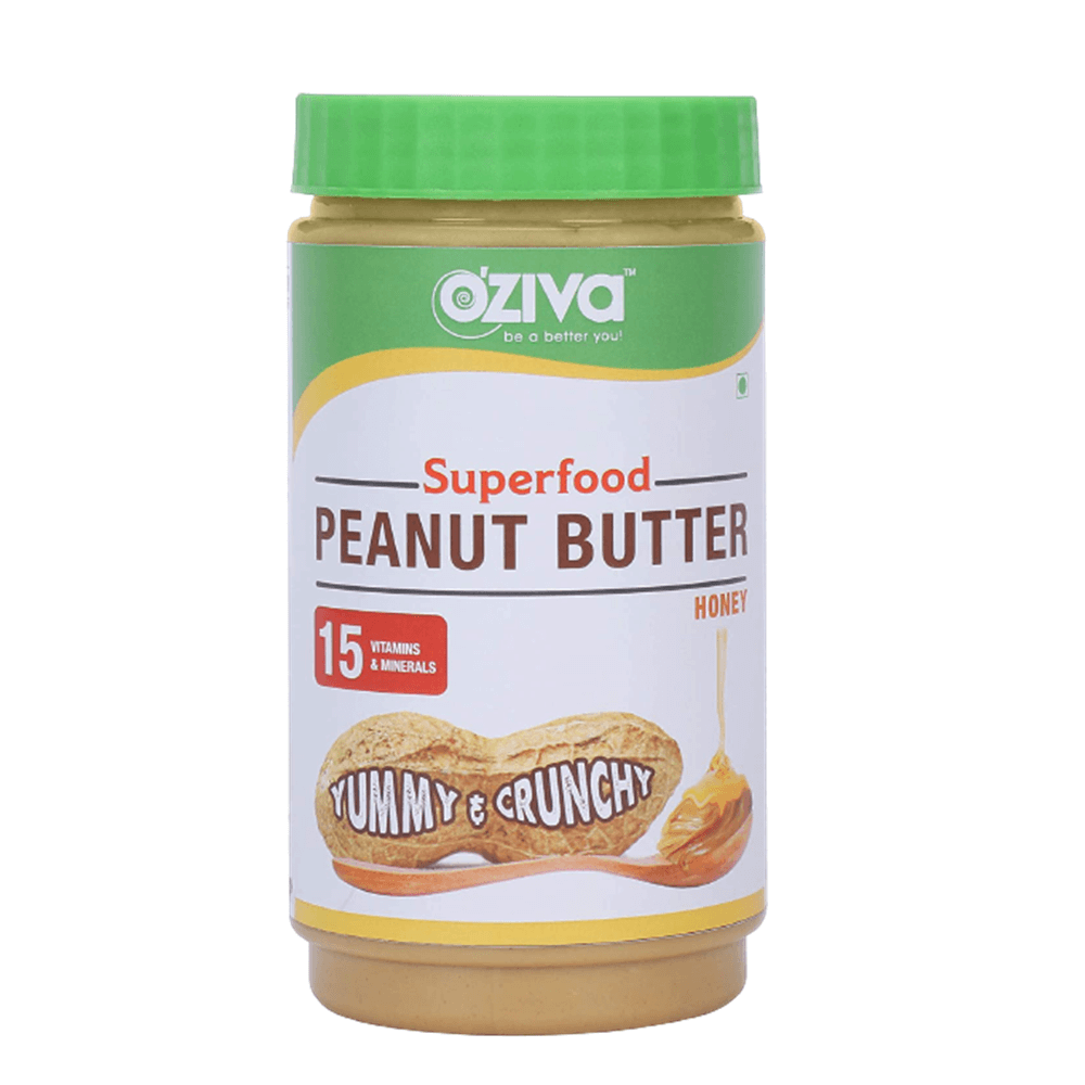 Oziva Superfood Peanut Butter With Honey