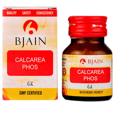 Bjain Homeopathy Calcarea Phosphorica Biochemic Tablet 6XX