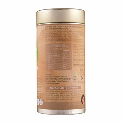 Organic Wellness Ow'Real Tulsi Ginger Tin Pack