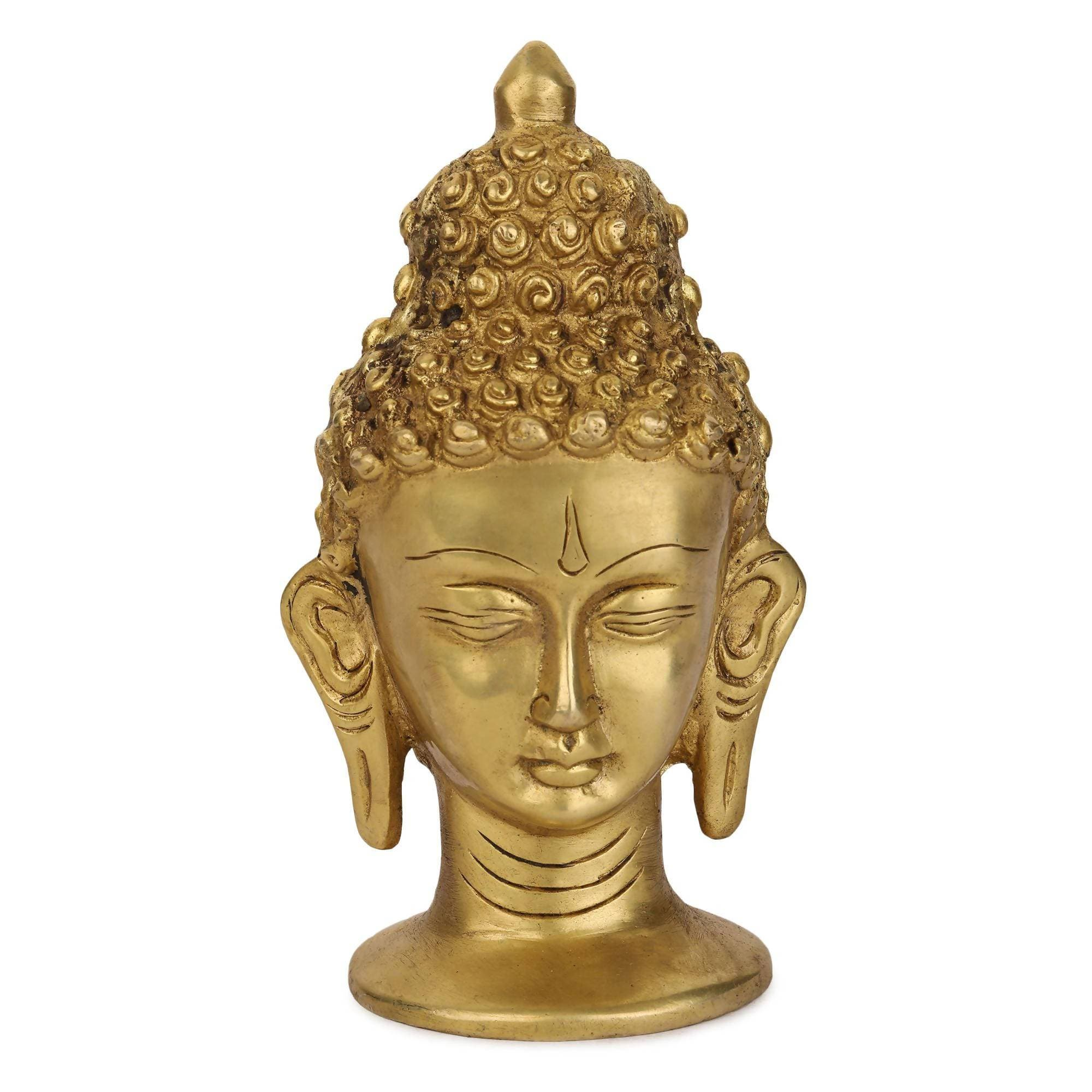 Devlok Buddha Monk Face Idol