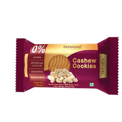 Patanjali Cashew Cookies (Pack of 5) - Distacart