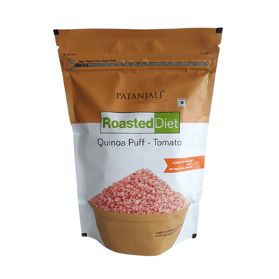 Patanjali Roasted Diet Quinoa Puff - Tomato and Masala Combo - Distacart