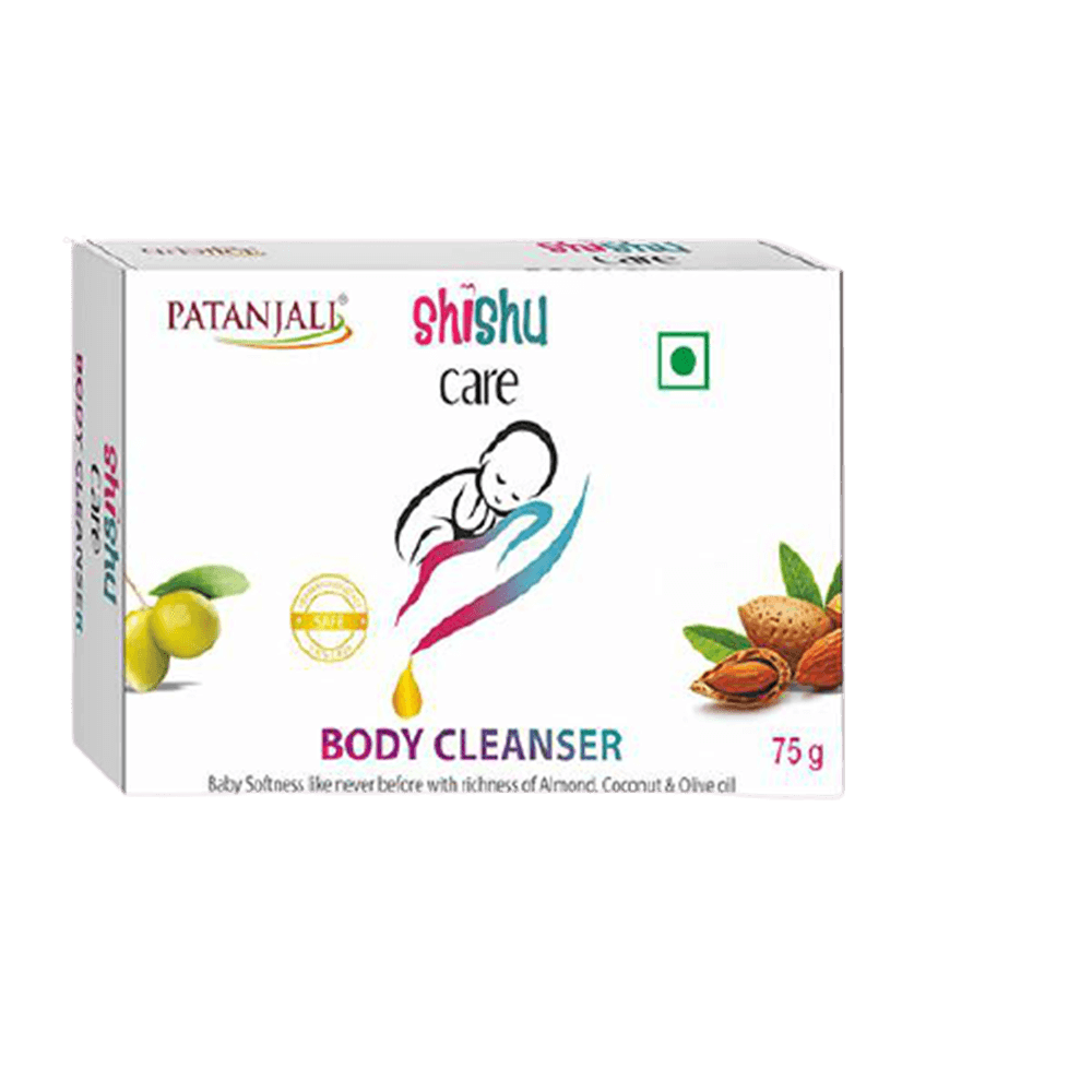 Patanjali Shishu Care Body Cleanser (75 gm) - Distacart