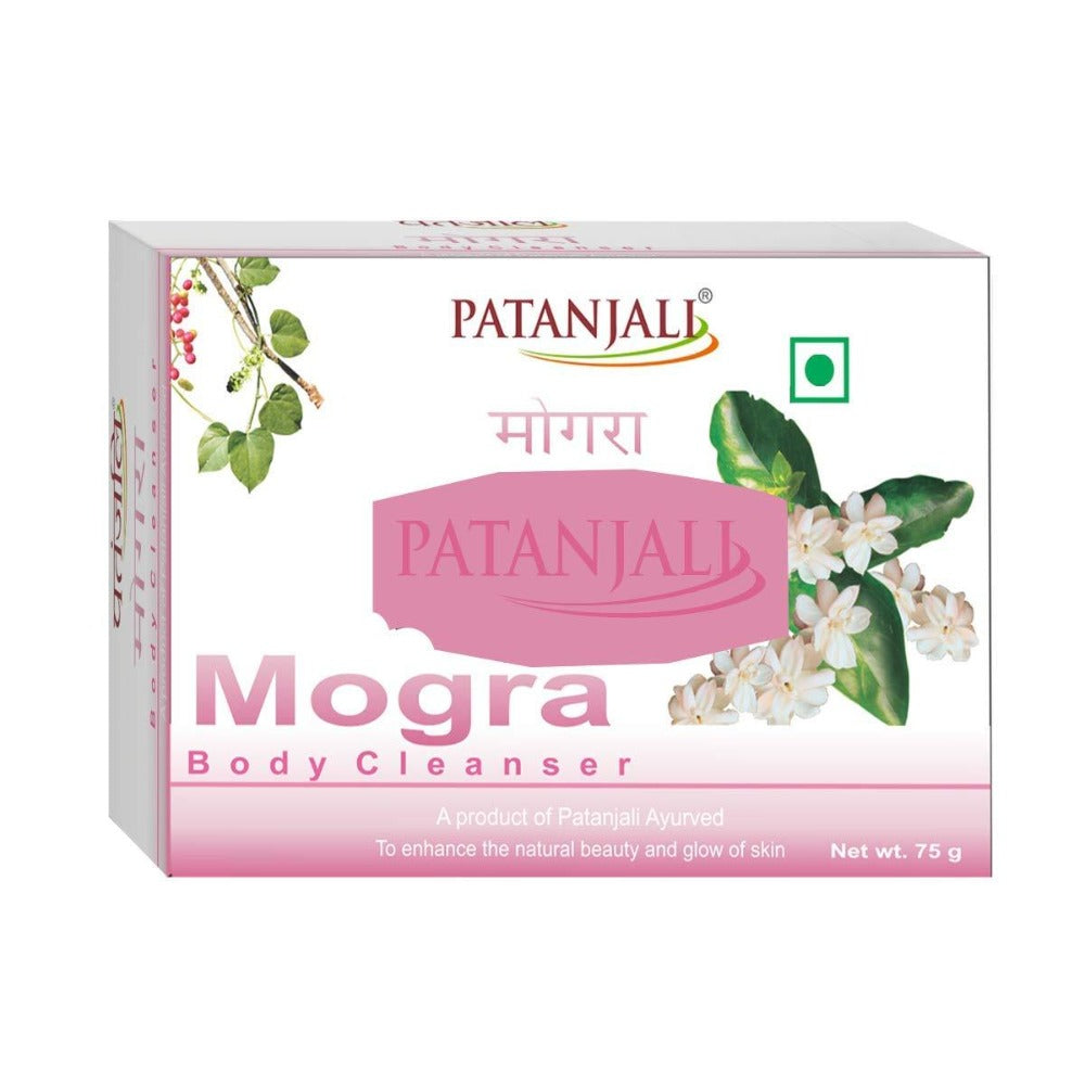 Patanjali Mogra Body Cleanser Soap