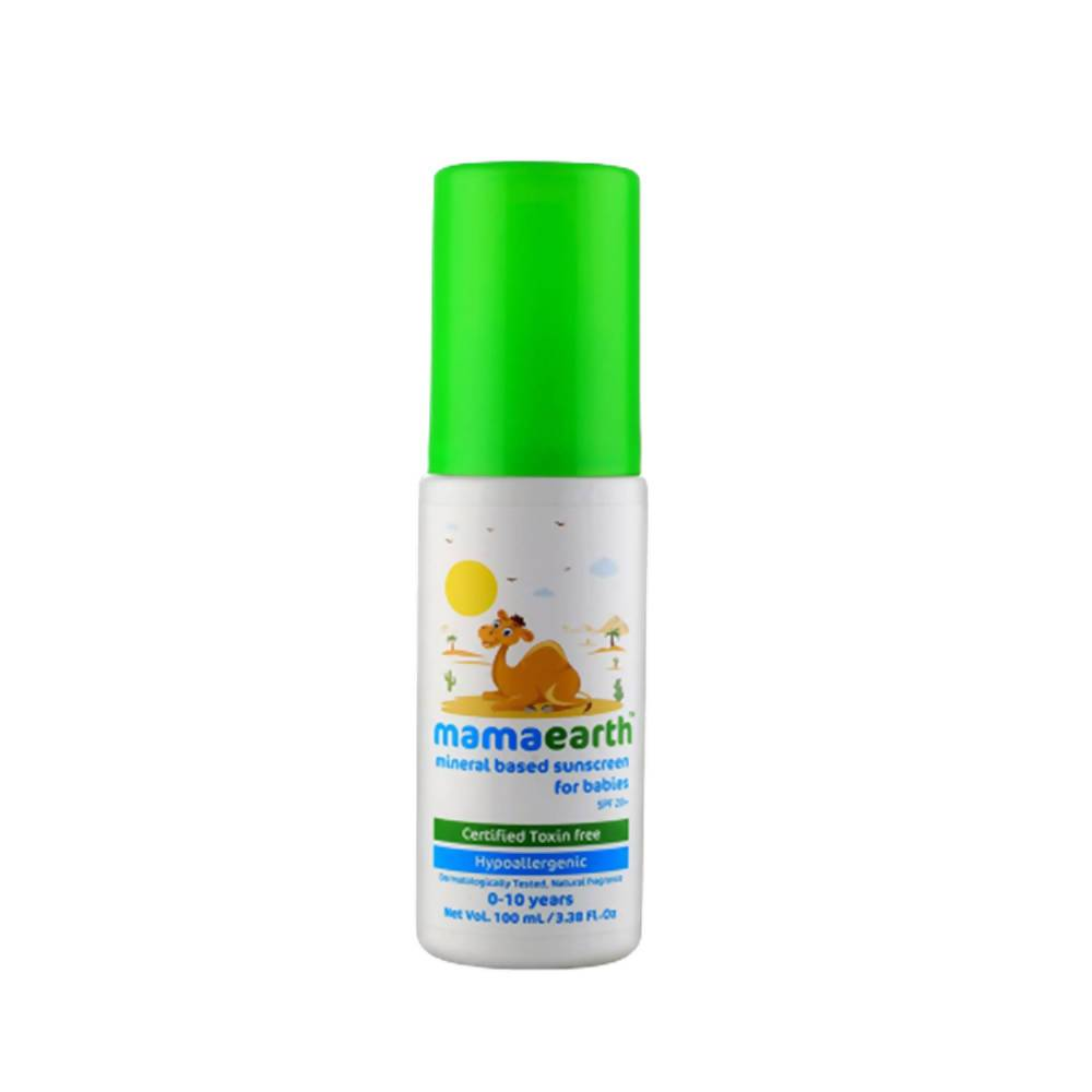 Mamaearth Mineral Based Sunscreen For Babies