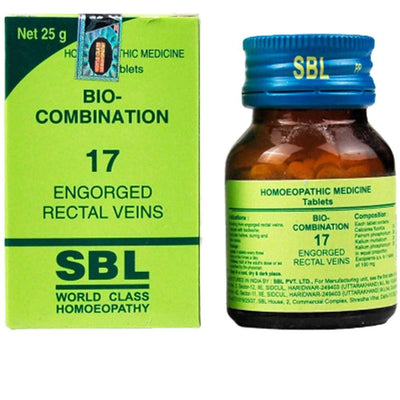 SBL Homeopathy Bio-Combination 17 Tablets