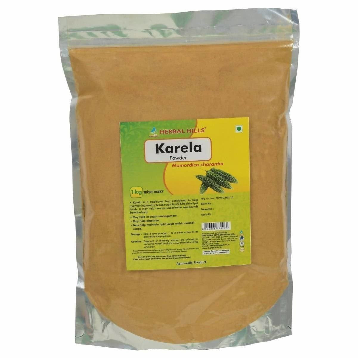 Herbal Hills Karela Powder - 1 kg