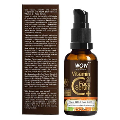 Wow Skin Science Vitamin C+(Plus) Face Serum