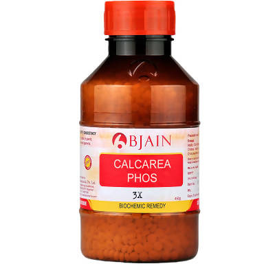 Bjain Homeopathy Calcarea Phosphorica Biochemic Tablet 3X 450 GM