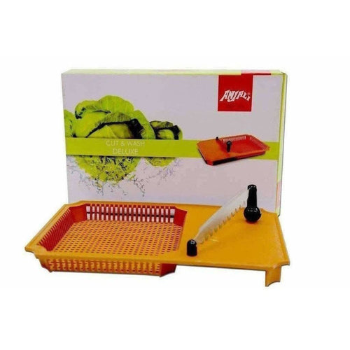 Anjali Cut & Wash Chopping Board For Vegetables - Chopping Knife - Dista Cart