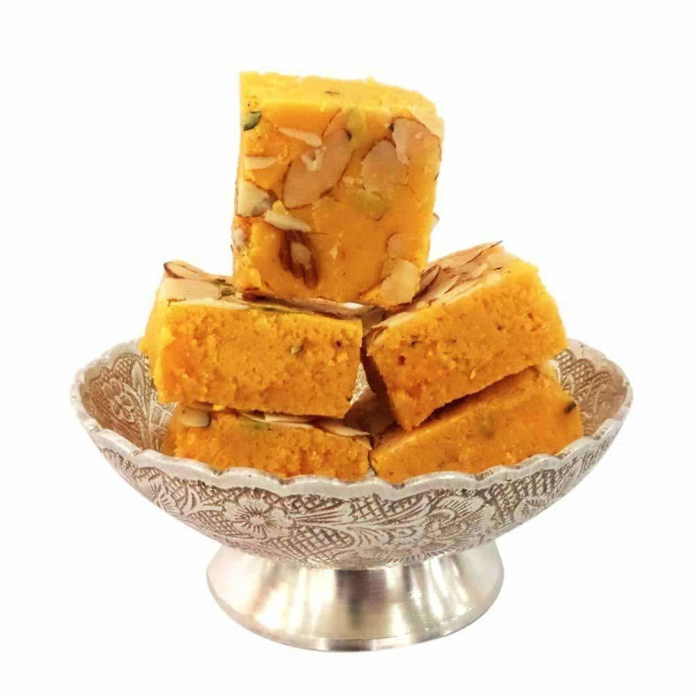 Mithaiwala Kesar Dry Fruit Burfi - Dista Cart