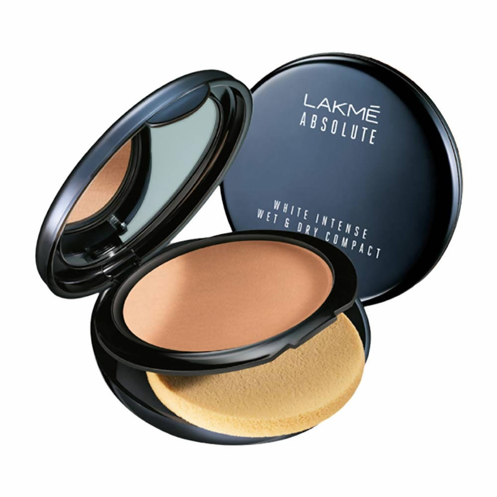 Lakme Absolute White Intense Wet and Dry Compact - Golden Light - Distacart