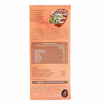 Organic Wellness Ow'Real Cinnamon Liquid Yoga Teabags